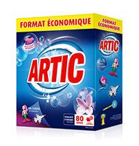Les lessives en poudre Artic