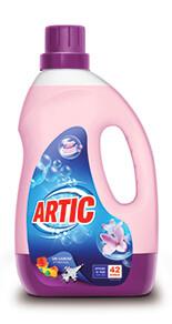 Les lessives liquides Artic